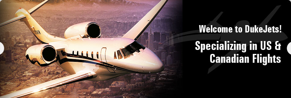 Book a flight on a private jet from Vancouver, BC or Toronto, ON, Canada.